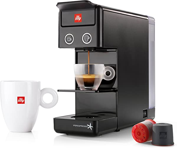 Illy y3.2 Espresso and Coffee Machine