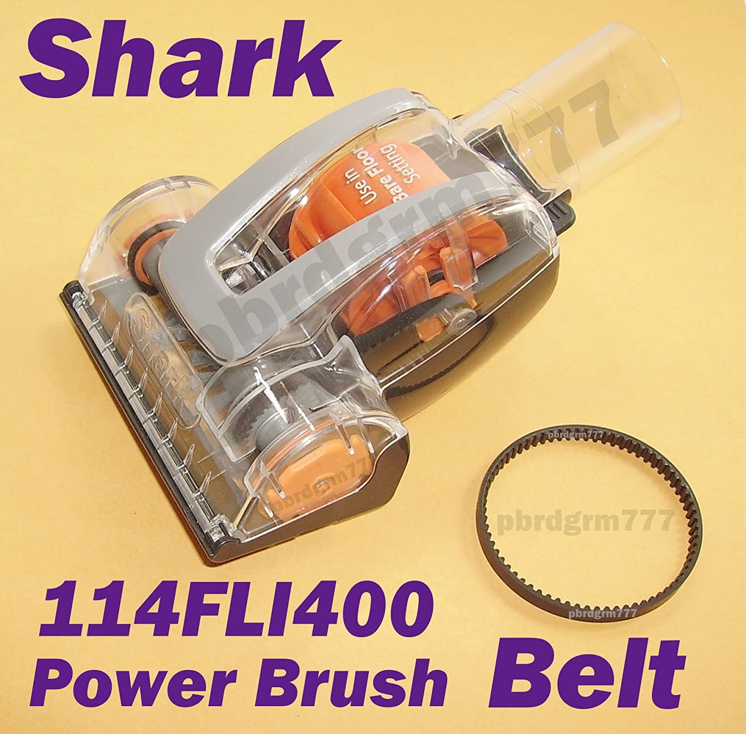 Shark 114FLI400 Belt for the Hand Held Small Power Brush that comes with the Shark NR96 Rotator Vacuum New