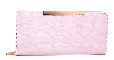 Ted Baker - Monedero con caja de regalo, color rosa y dorado ...