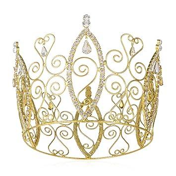 Amazoncom DcZeRong Full Tiara Queen Crown 315 High