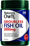 Nature's Own Odourless Fish Oil 2000mg - 200 Capsules