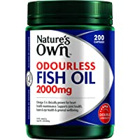Nature's Own ODOURLESS Fish Oil 2000mg Capsule 200