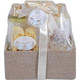 Homcom® 5/8-teiliges Wellness-Set Weihnachten Geschenkset Badeset Dusch Geschenk Pflegeset Körperpflege (Type B)