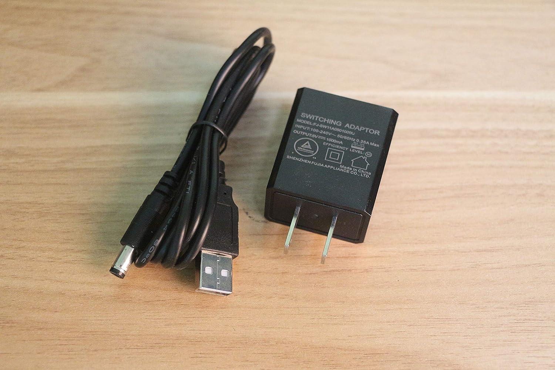 DC Adaptador de alimentación y Cable para Tocadiscos: Amazon.es ...