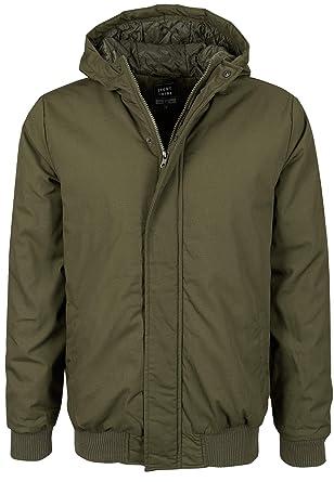 9a11ca46743c Eight2Nine warme Herren Winter-Jacke mit Kapuze und Taschen  Amazon.de   Bekleidung