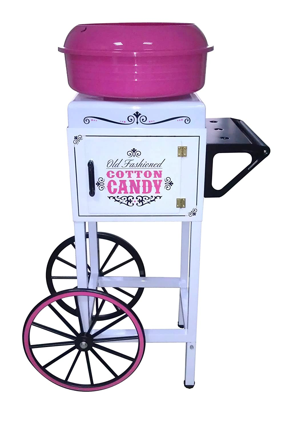 Nostalgia Electrics CCM510 38 Tall Vintage Collection Commercial Cotton Candy Cart by Nostalgia: Amazon.es: Hogar