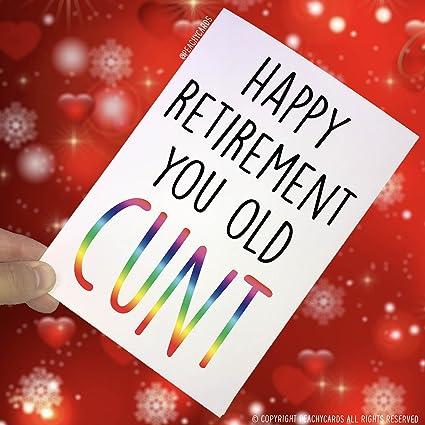 Tarjetas de jubilación, tarjeta de felicitación de ...