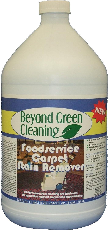 Clift Industries 9611-004 Más allá del limpiador verde de la limpieza de los alimentos Removedor de mancha de la alfombra, botella de 1 galón (paquete de 4) ...