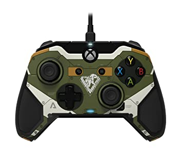 Pdp Camo Wired Controller For Xbox One Driver Windows 7: PDP Titanfall 2 Official Official Wired Controller for Xbox One (PC rh:amazon.co.uk,Design