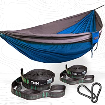 TNH Outdoors Premium Camping Hammock & Straps