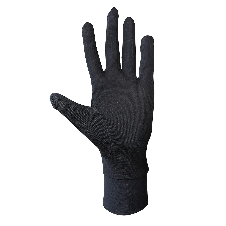 Silk gloves hand job
