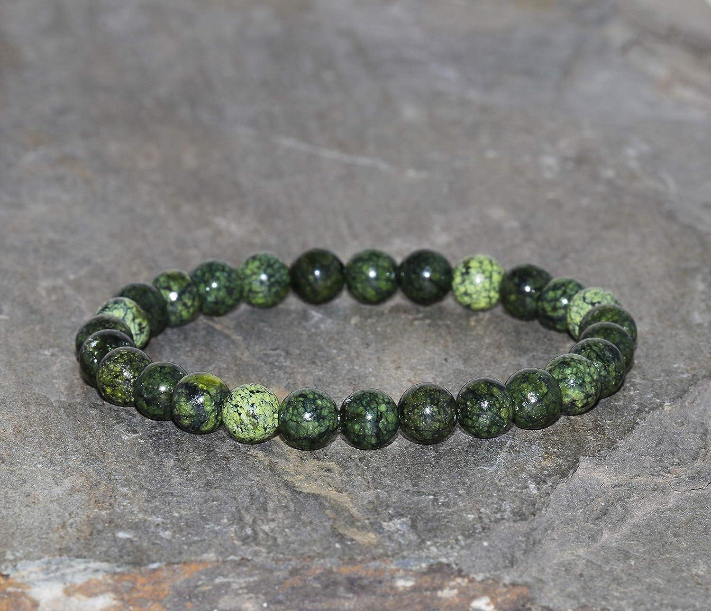 Custom Green Heart Bracelet Mothers Day Gift Women\u2019s Gift Mom Present Green Gemstone Bracelet