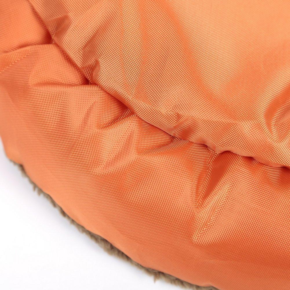Forever Love Orange Dog Cat Pet Fleece Bed Warm Mat Middle Size
