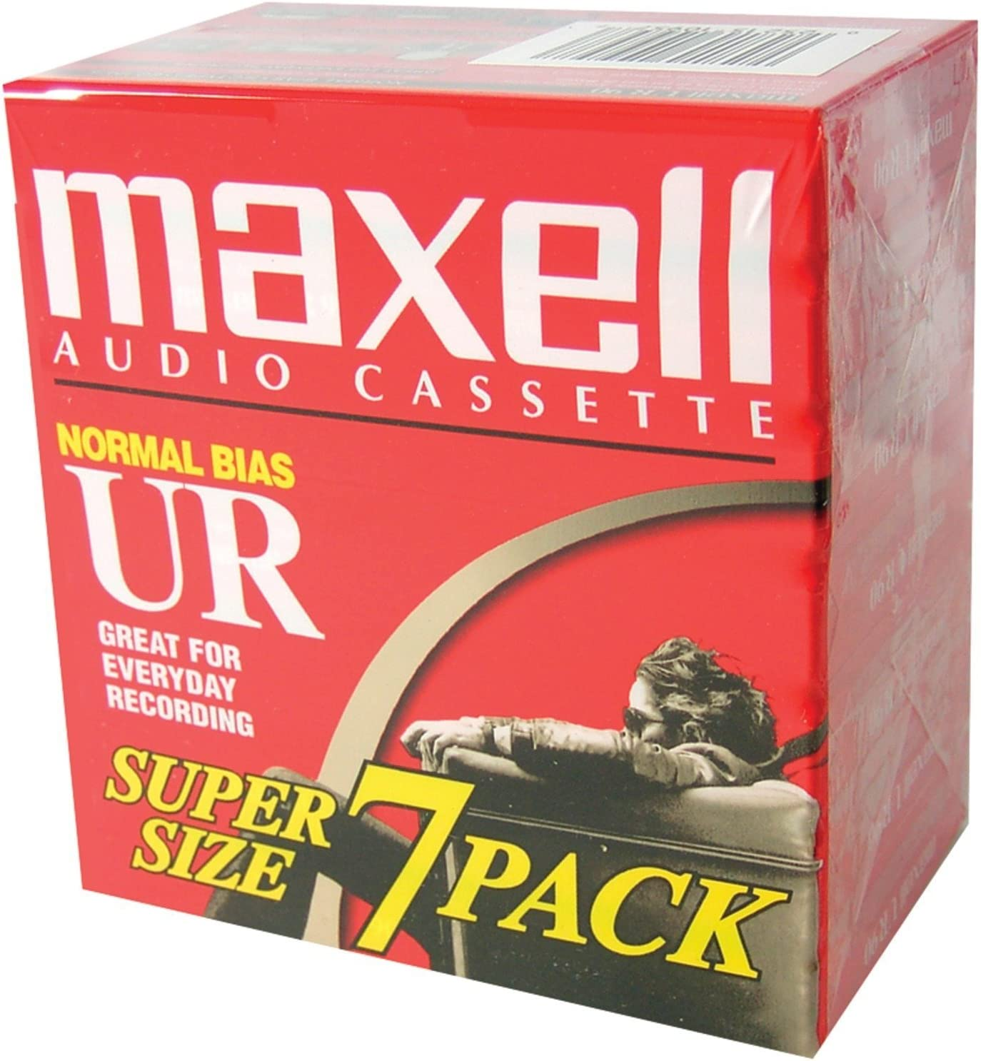 108575 Maxell UR-90 Blank Audio Cassette Tape New 10 Pack Free Shipping