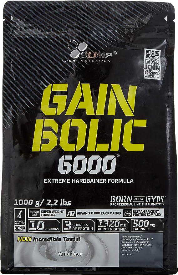Olimp Gain Bolic 6000 Vanilla 1Kg 2.2Lbs