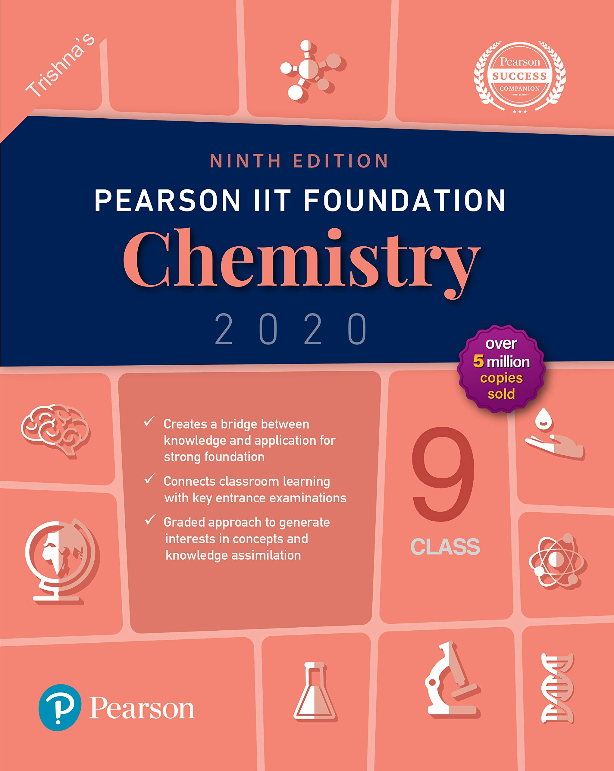 Pearson IIT Foundation Series Class 9 Chemistry|2020 Edition|By Pearson