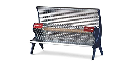 Buy Bajaj Flashy 1000 Watts Radiant Room Heater Steel Minor