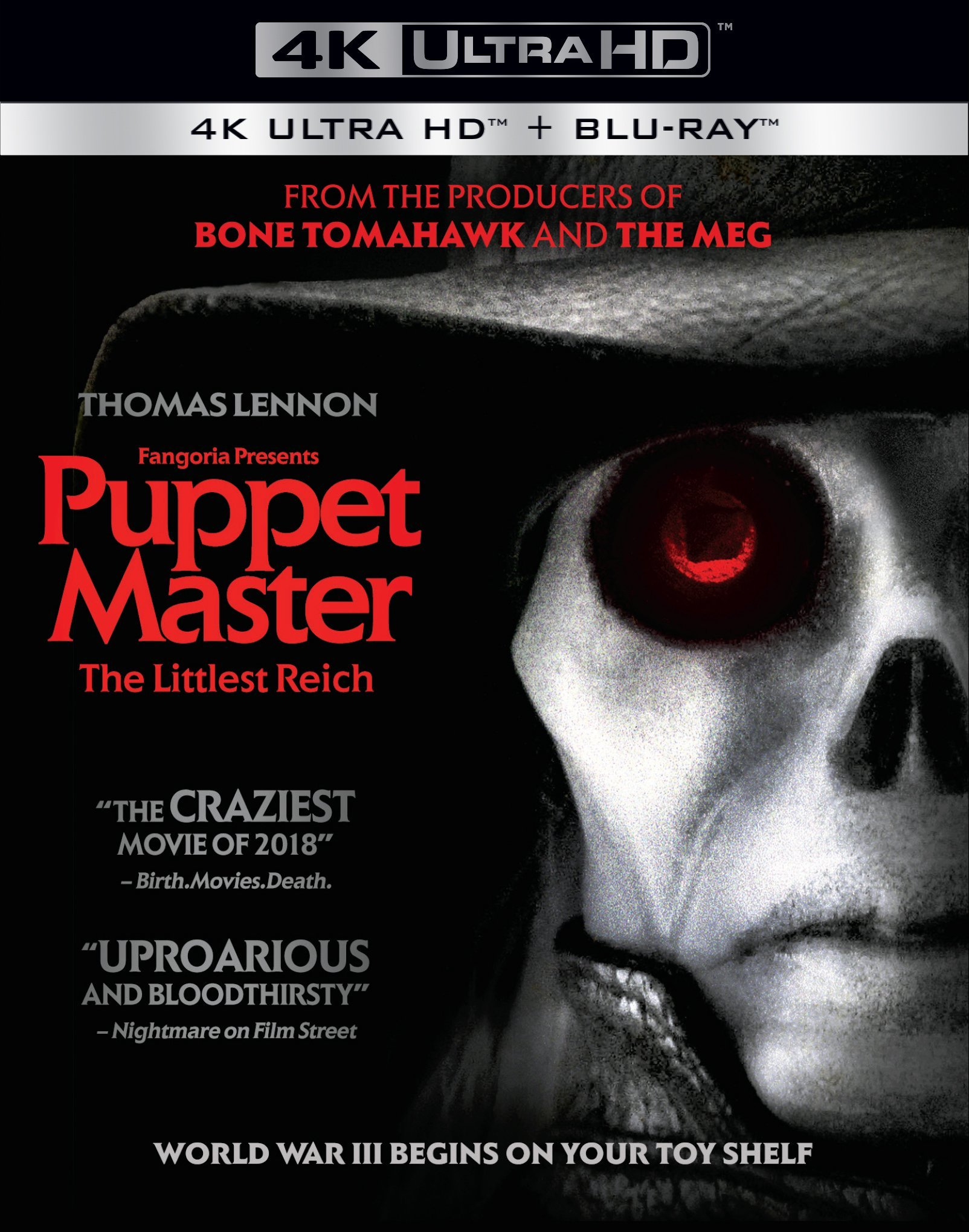 4K Blu-ray : Puppet Master: The Littlest Reich (4K Ultra HD)