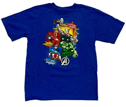 264d7285470 Image Unavailable. Image not available for. Color  Disney Store Marvel  Avengers Tee T-shirt ...