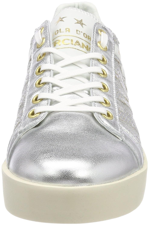 it Amazon Donne Low Sneaker Pantofola Lecce d'Oro Donna Pailette 0Ow84q