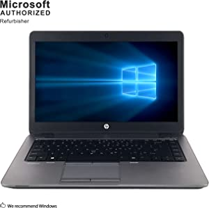 HP EliteBook 820 G1 12.5in Laptop, Intel Core i5-4300U 1.9GHz, 8GB Ram, 500GB Hard Drive, Windows 10 Pro 64bit (Renewed)