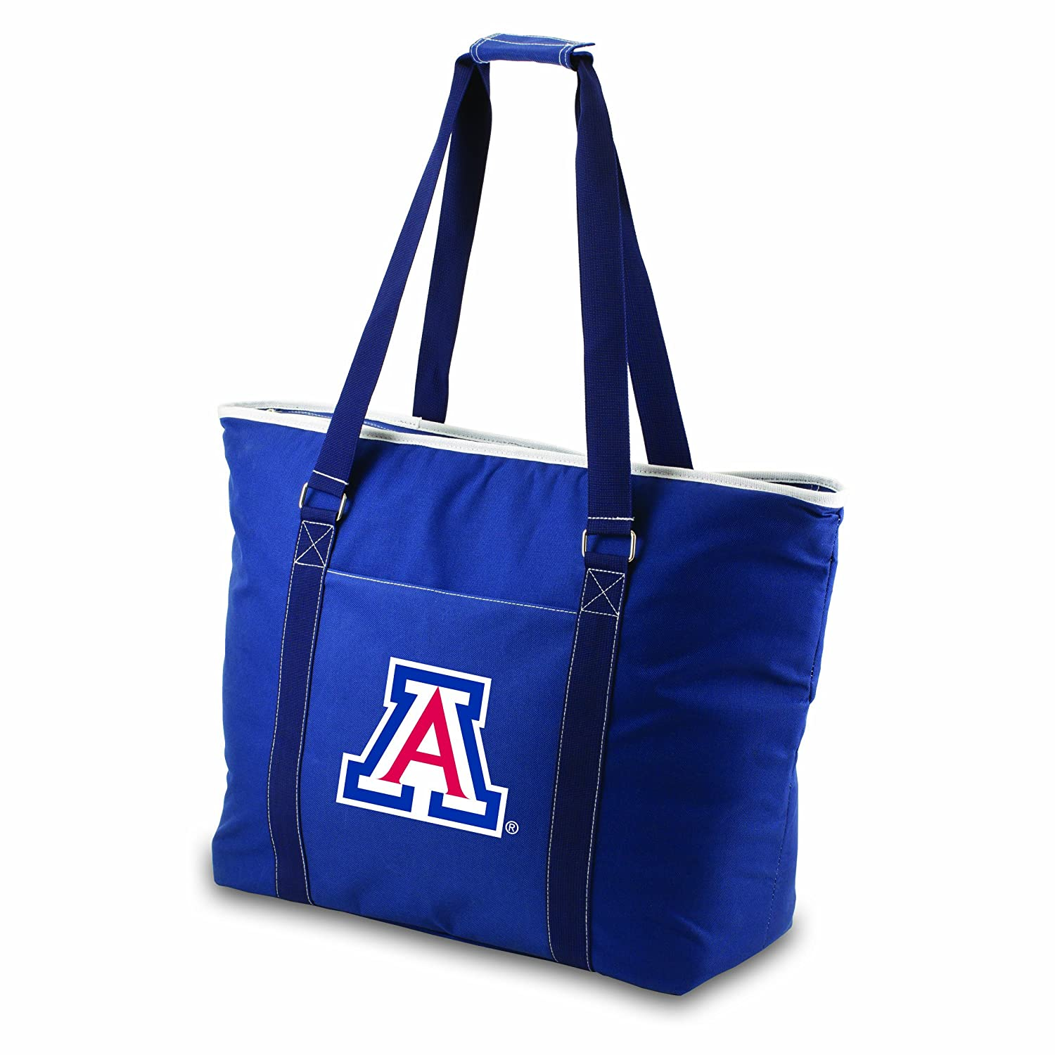 PICNIC TIME NCAA Tahoe Extra Large Insulated Cooler Tote, Black Cooler Tote-Black
