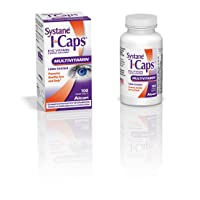 Systane ICaps  Eye Vitamin & Mineral Supplement, Multivitamin Formula, 100 Coated...