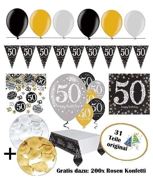 Geburtstagsdeko 50 geburtstag