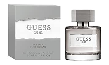 Amazoncom Guess Fragrance 1981 Eau De Toilette For Men 17 Fluid