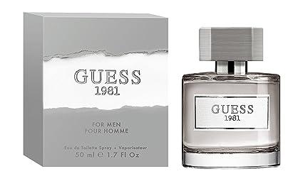 Amazoncom Guess Fragrance 1981 Eau De Toilette For Men 17 Fluid