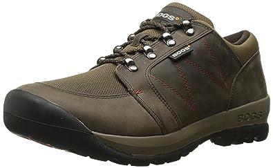 Bogs Men's Bend Low Hiking Shoe, Chocolate, 8 D(M) US