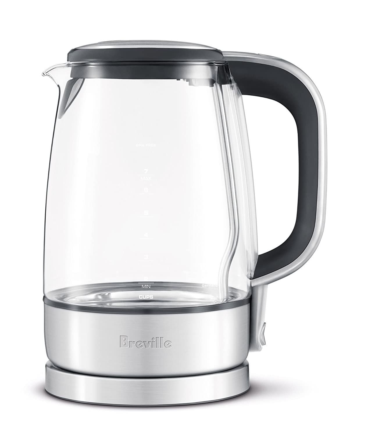 Amazoncom Breville Usa Bke595xl The Crystal Clear Electric Kettle