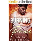 Burning For My Prince: A Secret Baby MPreg Romance (Meadowfall Firefighters Book 1)
