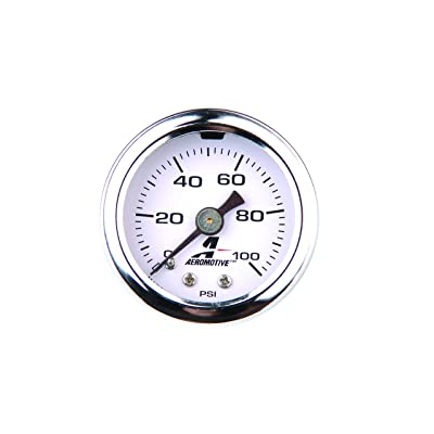 Aeromotive 15633 Fuel Pressure Gauge - 0 to 100 psi: Automotive