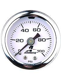 Aeromotive 15633 0-100 psi Fuel Pressure Gauge
