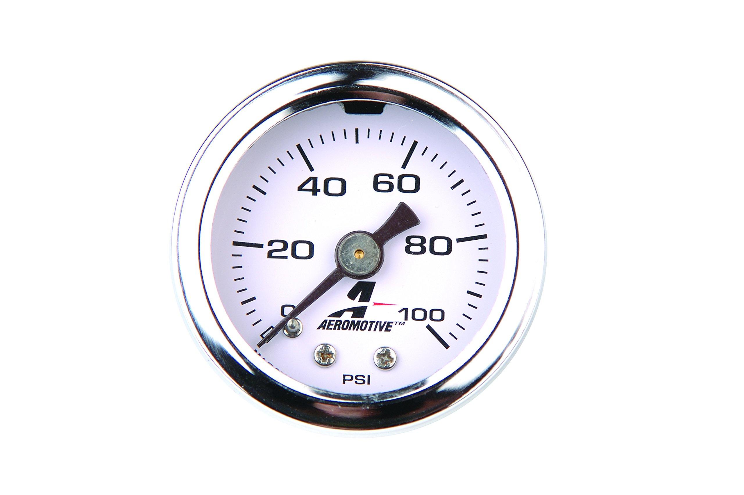 Aeromotive 15633 Fuel Pressure Gauge - 0 to 100 psi by Aeromotive