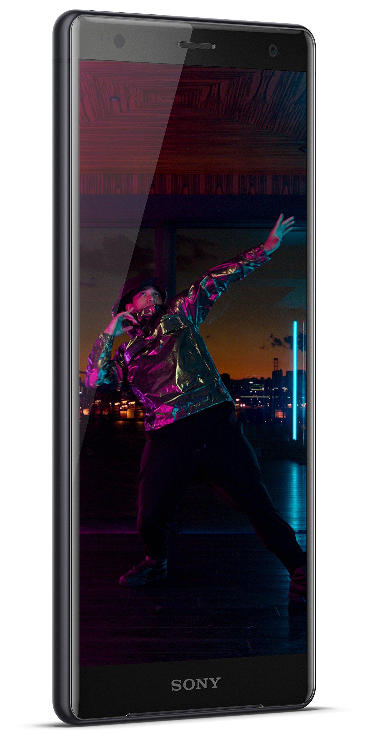 Sony Xperia XZ2 Unlocked Smartphone - 5.7'' Screen - 64GB - Liquid Black (US Warranty)