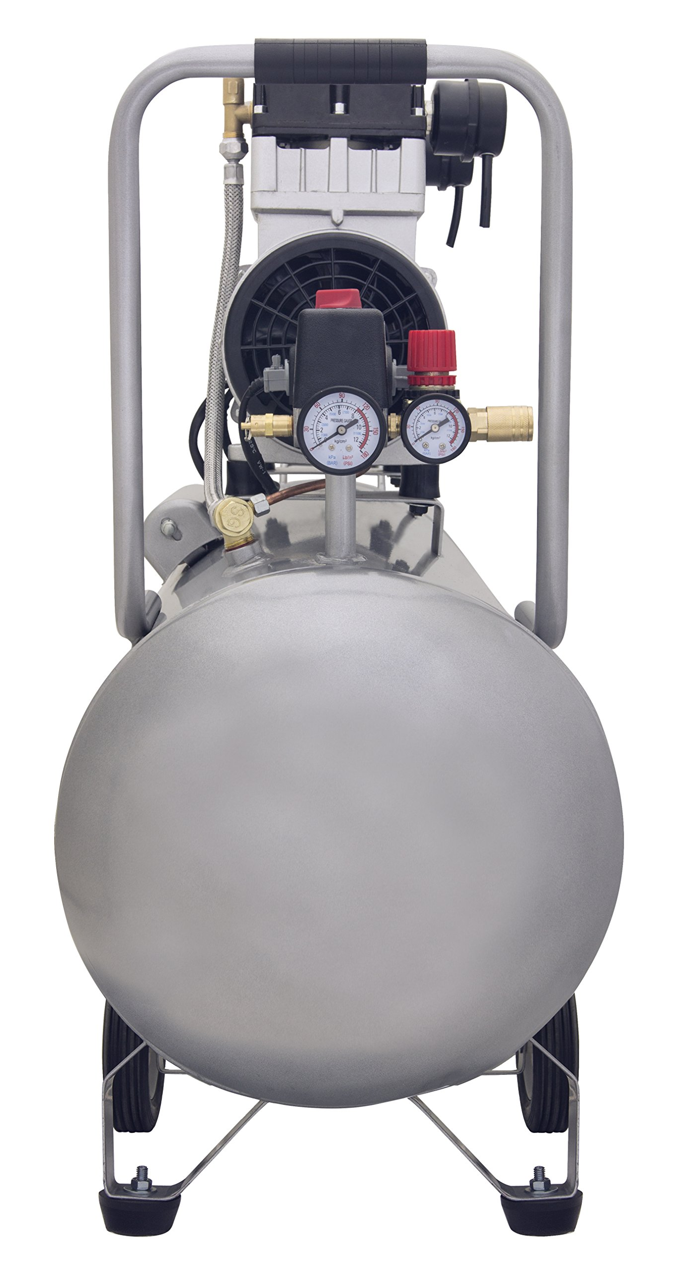 California Air Tools 15020C Ultra Quiet and Oil-Free 2.0 HP 15.0-Gallon Steel Tank Air Compressor by California Air Tools (Image #3)