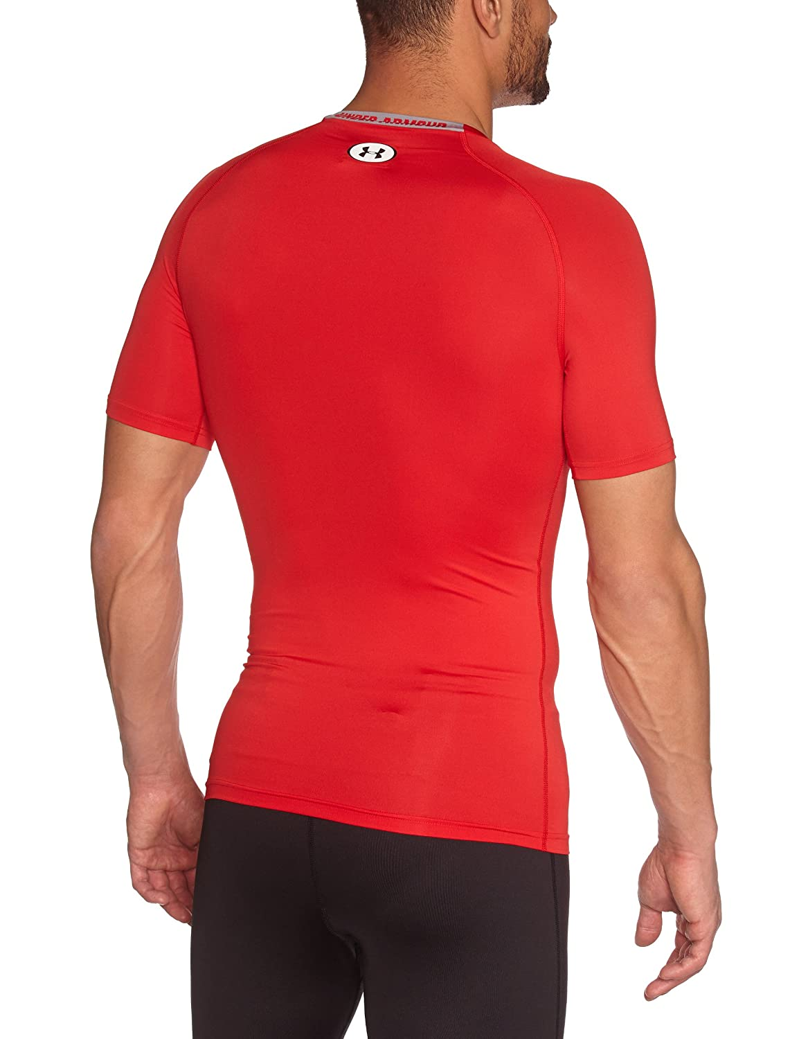 UA Men's HeatGear Armour Printed Short Sleeve Compression Shirt Under Armour 1257477