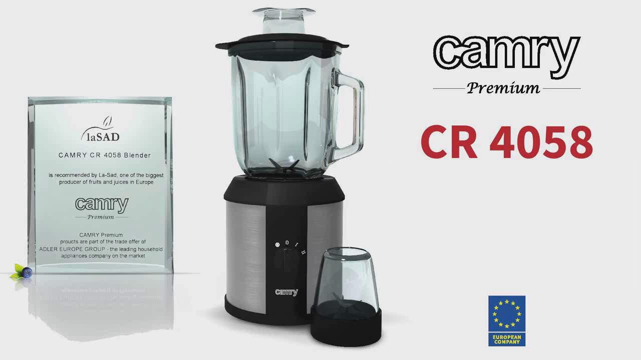 Camry CR 4058 Batidora de Vaso 1500W CR-4058, 1500 W, 1.3 litros ...