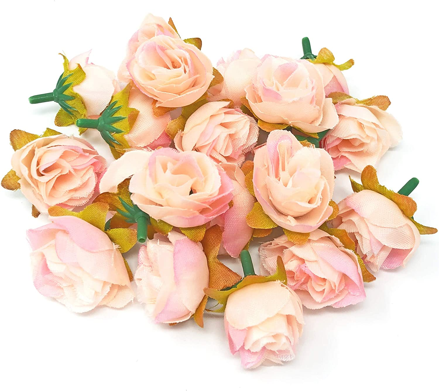 Mini Rose Buds Hot Sale Rose Bud Decorative Synthetic Flowers in 10 Colours