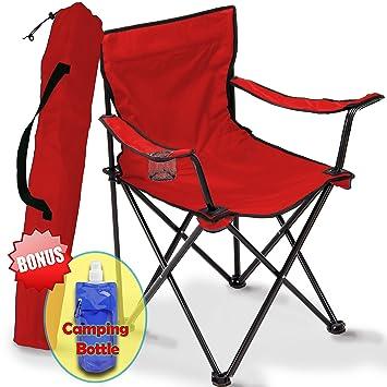 Amazon.com: Silla de camping plegable, portátil bolsa para ...
