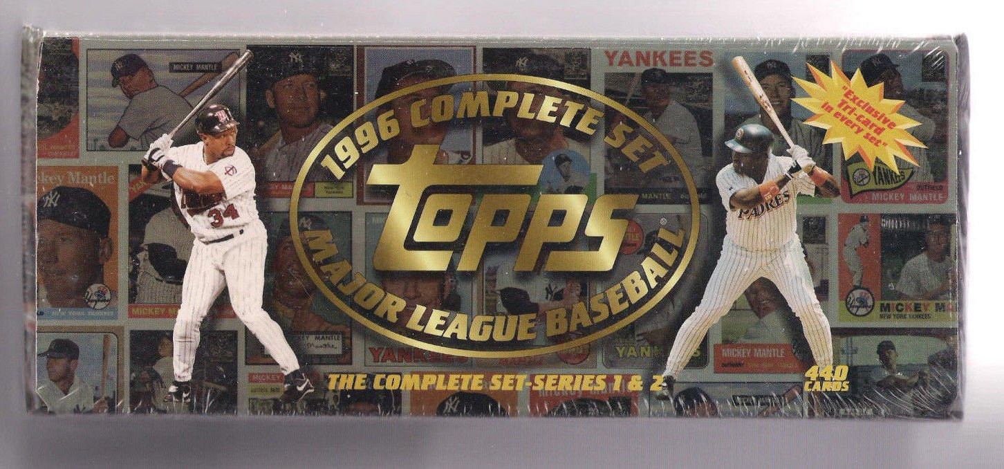1996 Topps Baseball Factory Sealed Complete Set 440 Cards by Topps