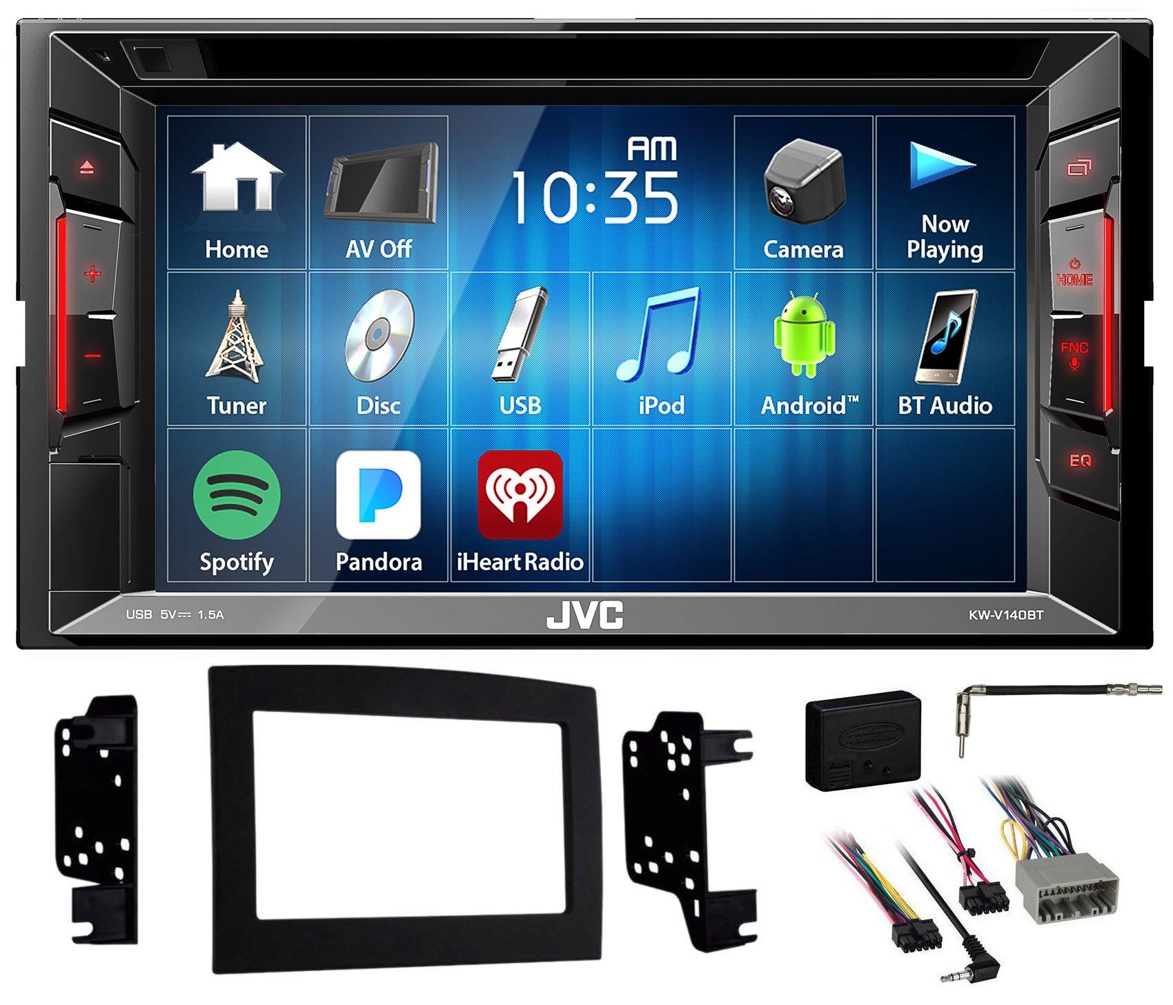 2006-2009 Dodge Ram 2500/3500 JVC DVD/CD Player w/Bluetooth/USB/iPhone/Android
