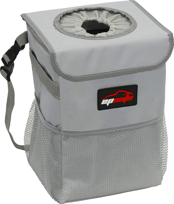 Bolsa Organizador Resistente Al Agua Para Auto, gris Epauto