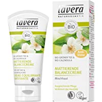 Lavera opacizzante Balancing Cream organico tè verde e Calendula biologica, 1er Pack (1 x 50 ml)