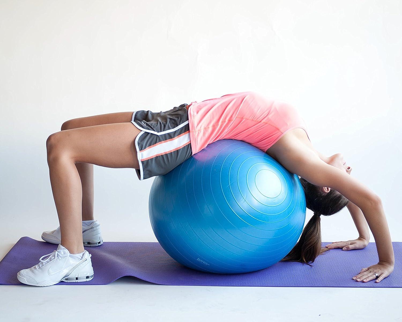 Pelota para ejercicios de estabilidad, núcleo de 65 cm pilates con ...