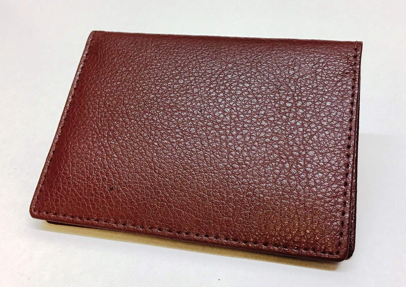 Real Leather Oyster Card Holder Wallet Burgundy Chelsea Leather