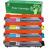 GREENSKY 4 PK Toner compatible para Brother DCP-9020CDW HL-3140CW HL-3150CDW HL-3170CDW MFC-9140CDN MFC-9330CDW MFC-9340CDW Printer - 4Packs(1B1C1Y1M)