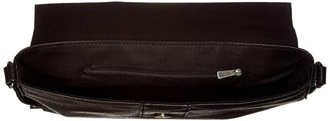 018ea1o021, Womens Shoulder Bag, Black, 7x21x28 cm (B x H T) Esprit
